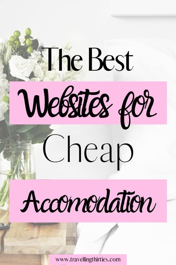 Best websites for cheap accommodation