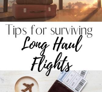 Tips for Surviving long haul flights