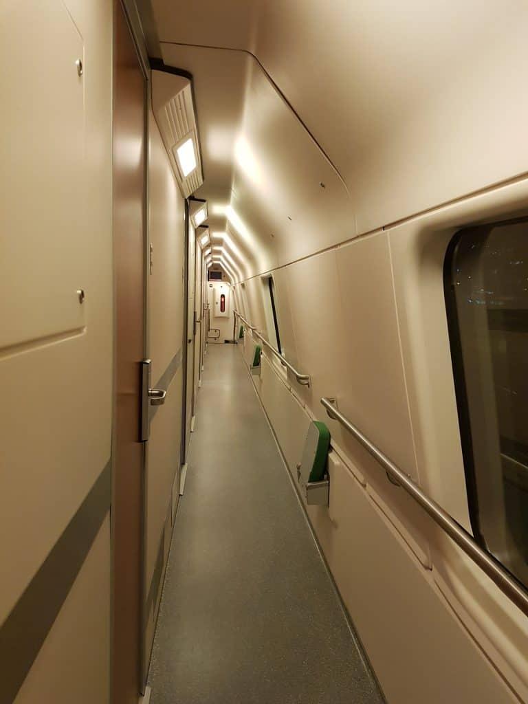 The Santa Claus express night train