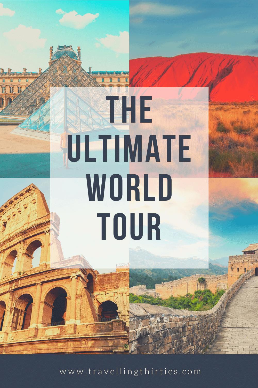 The Ultimate Virtual Tour around the World