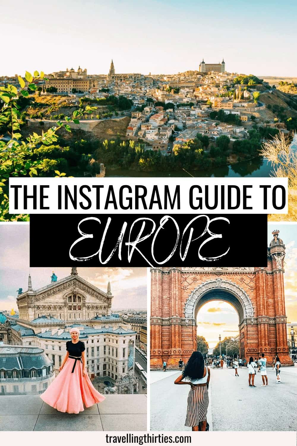 Most instagrammable spots in Europe Pinterest Graphic