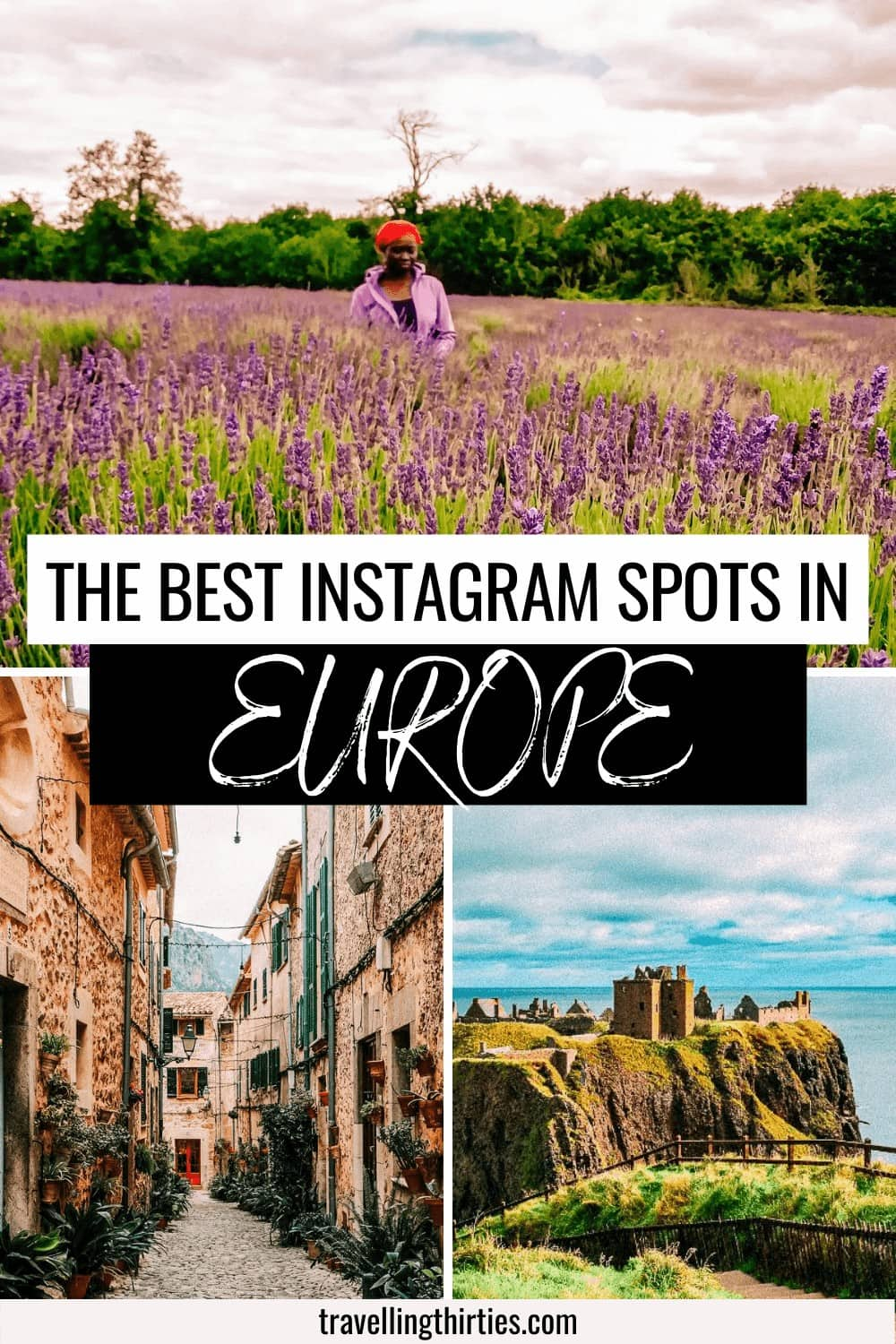An Pinterest graphic for the most instagrammable spots in Europe