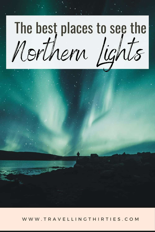 Green Northern Lights Pinterest image
