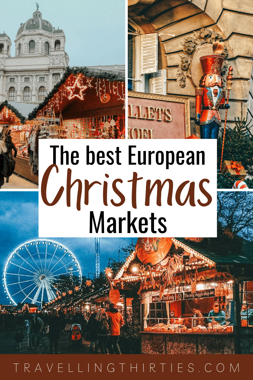 Pinterest Graphic for the Best European Christmas Markets