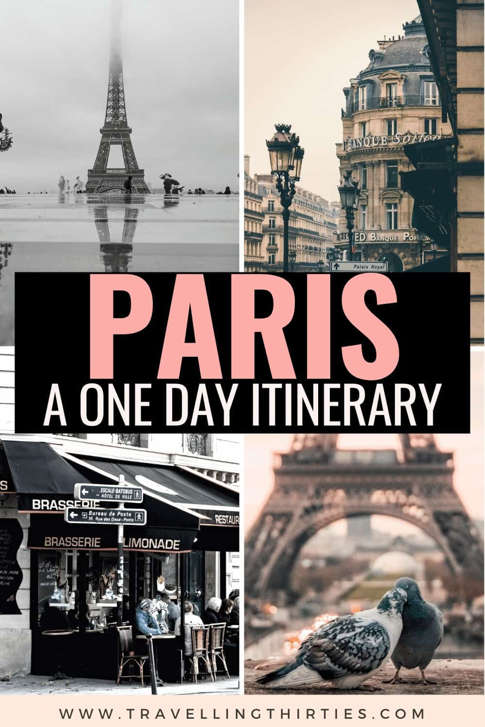 Pinterest Graphic - A 24 hour Paris itinerary