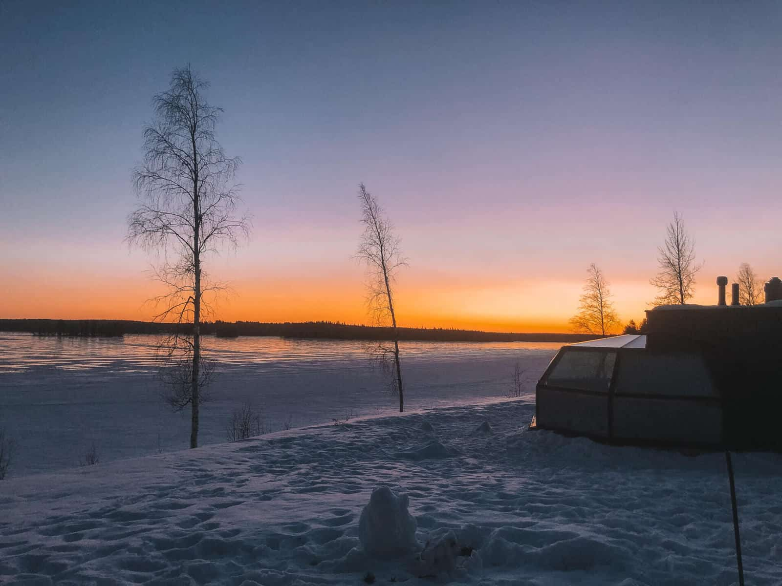 Arctic Fox Igloos: A night in luxury under the stars