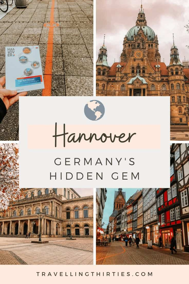 Pinterest Graphic for Hannover Germany