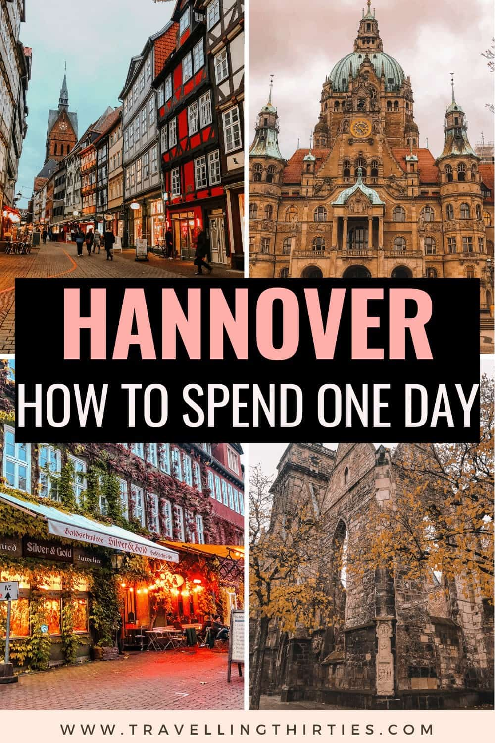 Pinterest Graphic for Things to do in Hannover