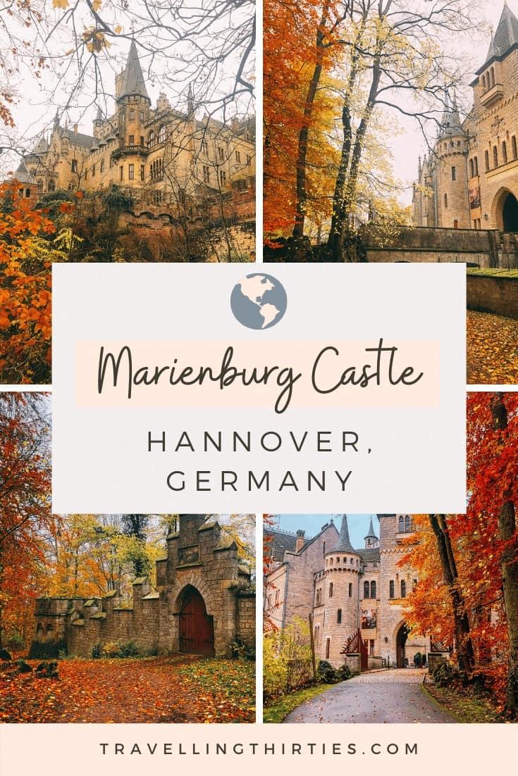 Pinterest Graphic for Schloss Marienburg