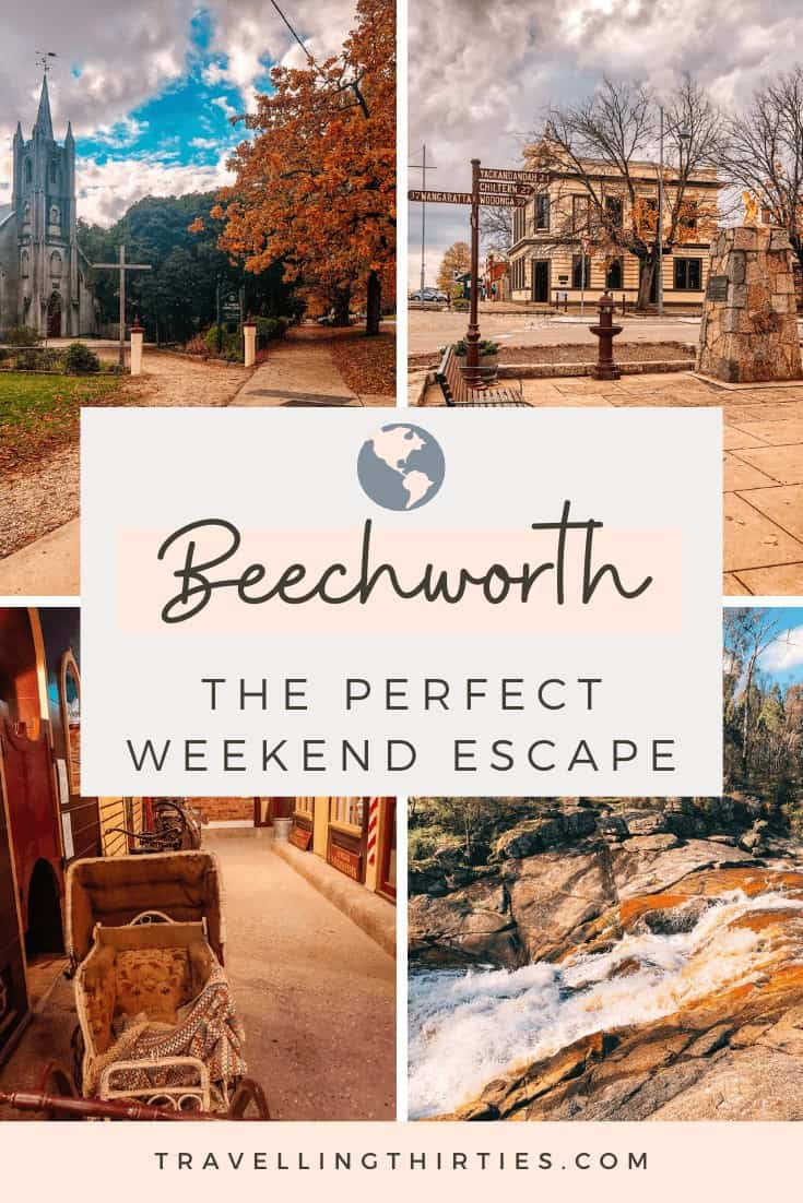 Pinterest Graphic: Things to do in Beechworth