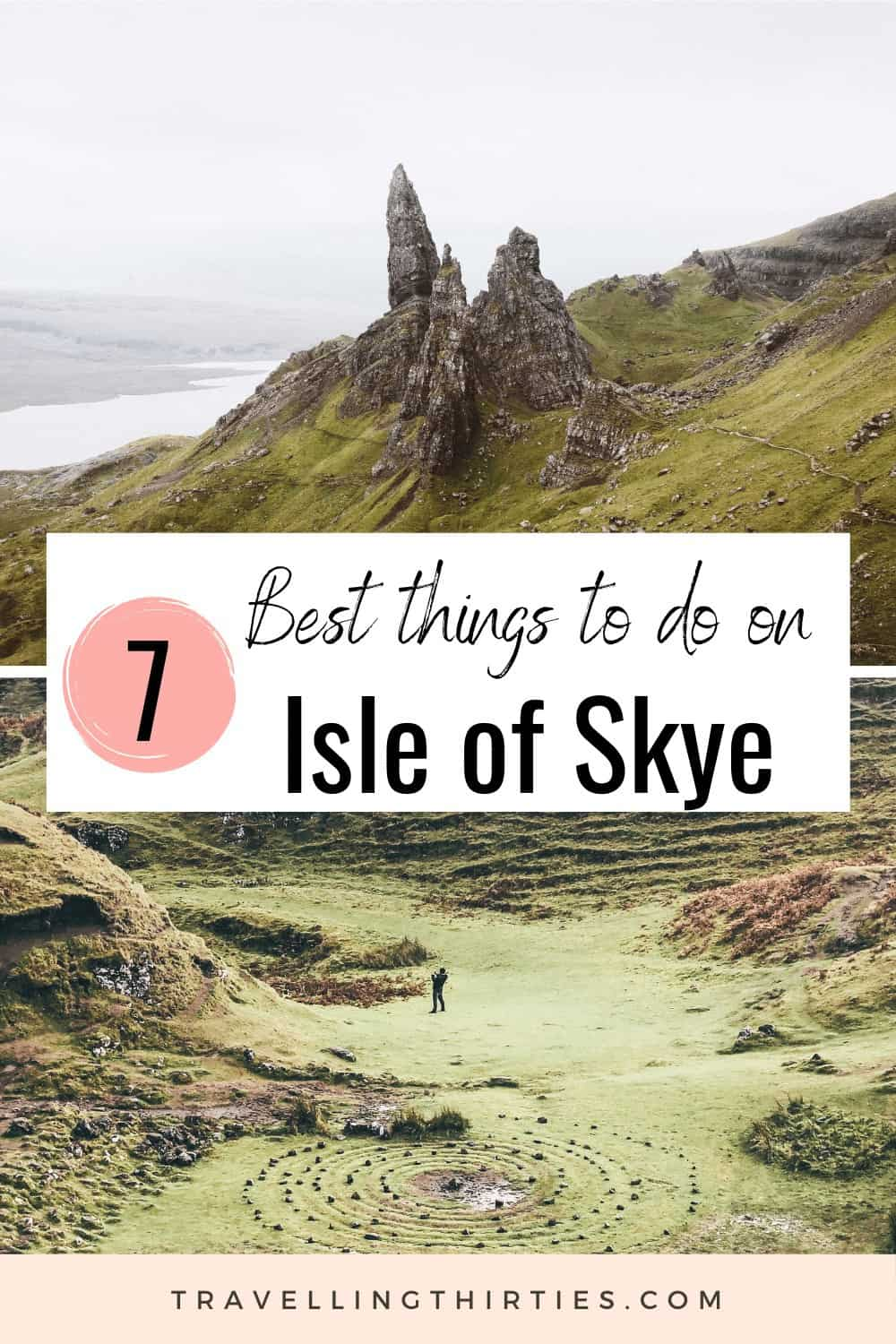Pinterest Graphic for things to do on the Isle of Skye