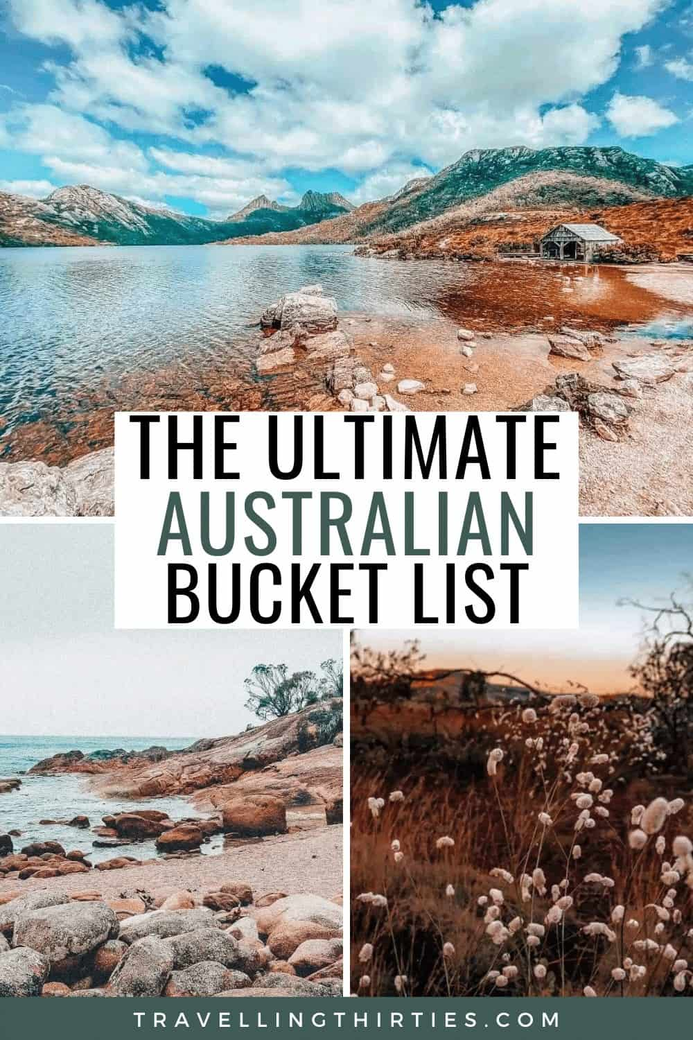 Pinterest Graphic for Driving Around Australia