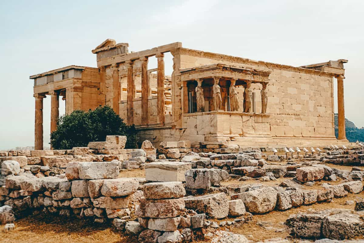 An old greek ruin