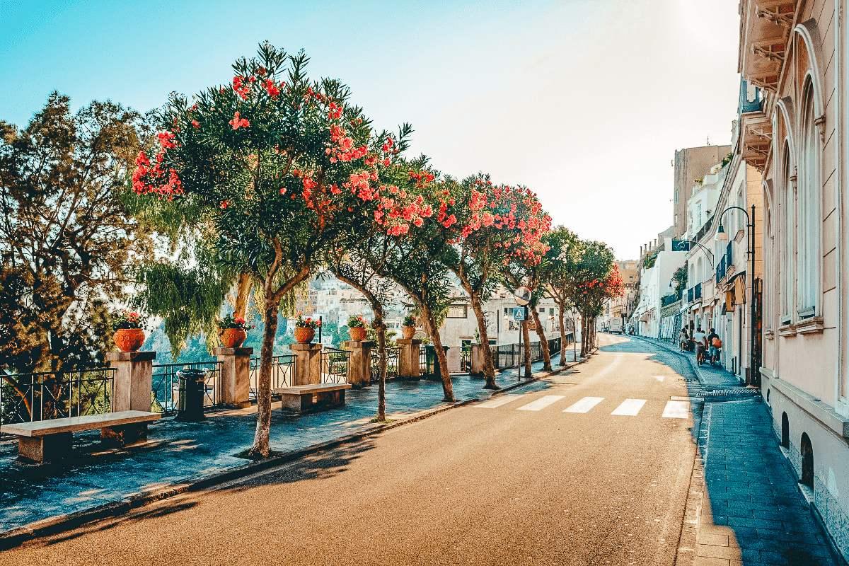 Old town is Capri