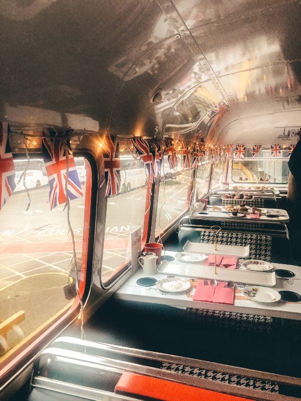 Brigit Bakery Afternoon Tea Bus tour london