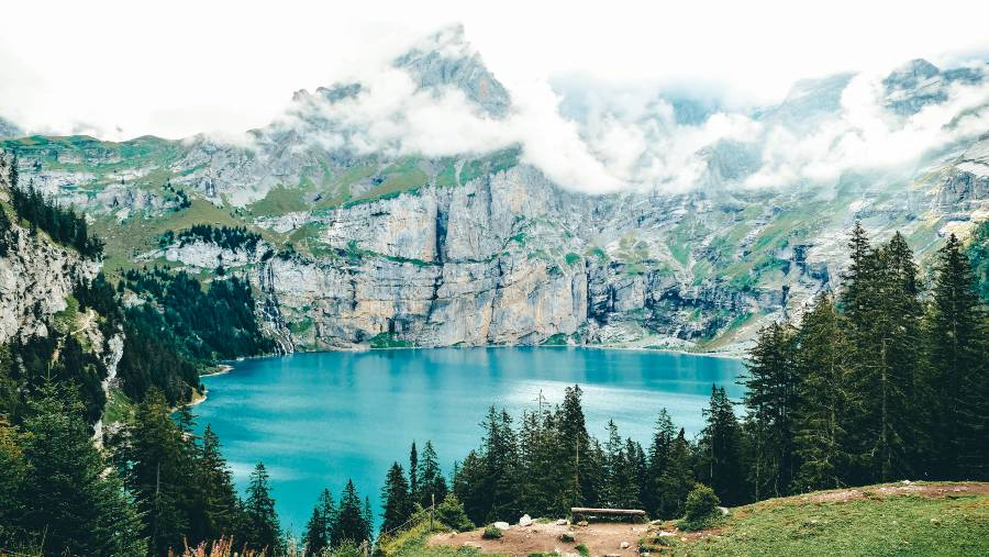 Oeschinensee is one of the best hikes in switzerland
