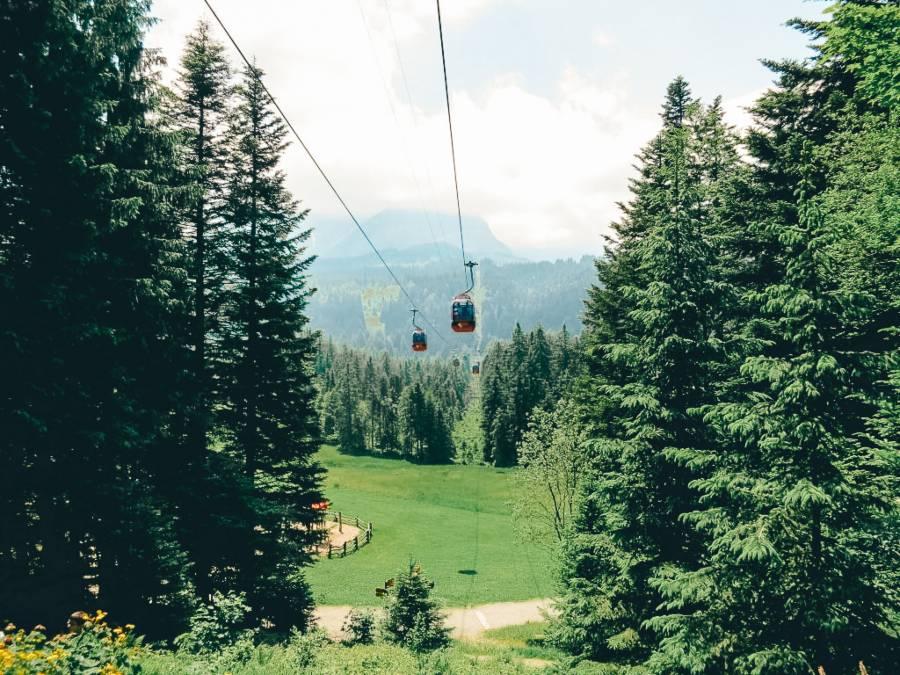 The Gondola at Mount Piltaus