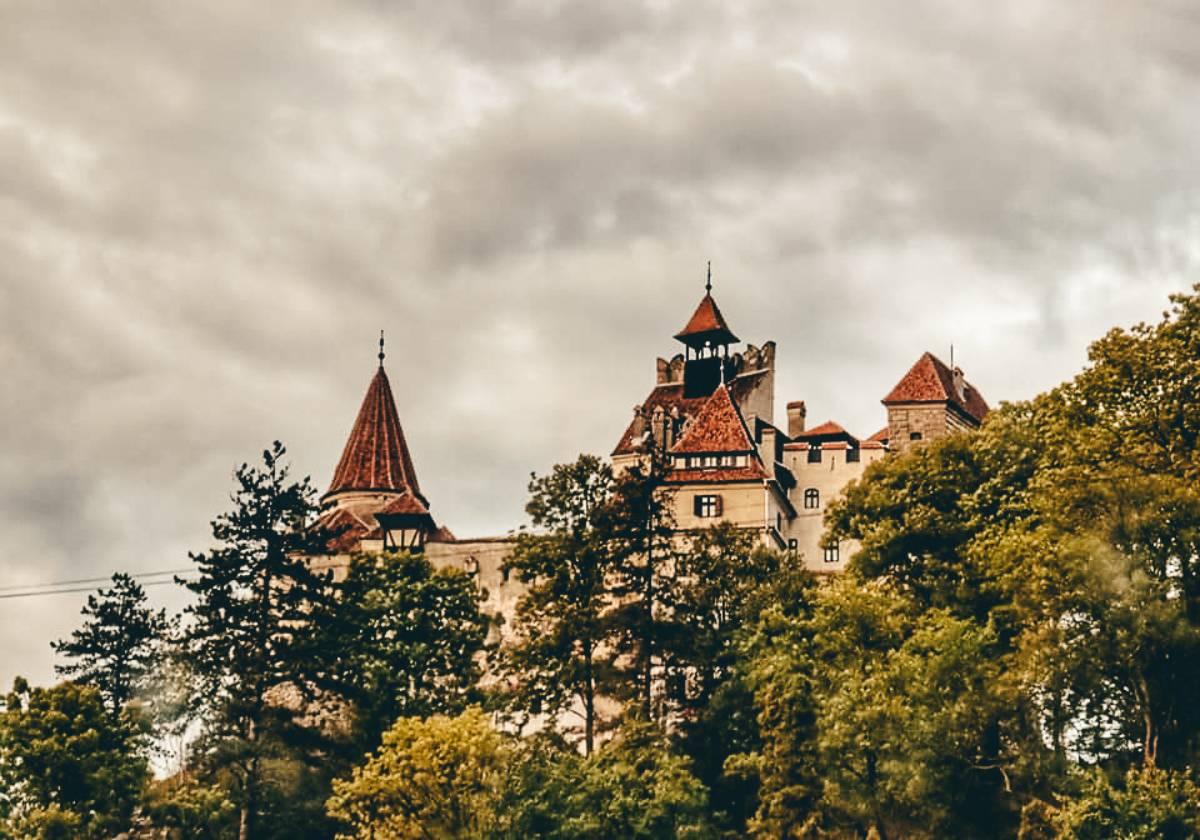 Bran Castle in Brasov, Romania