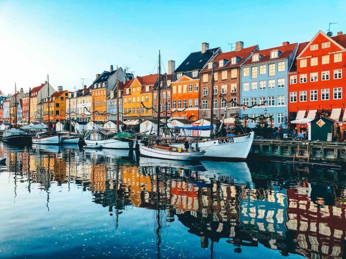 Nyhavn Copenhagen in winter