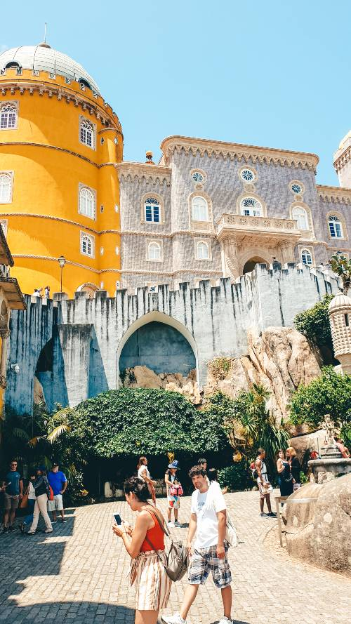 The old town of Sintra