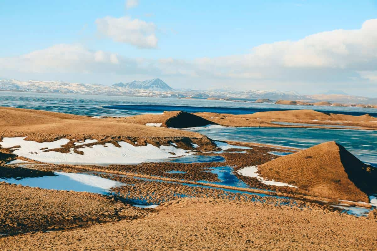 Myvatan Geothermal Area in Iceland