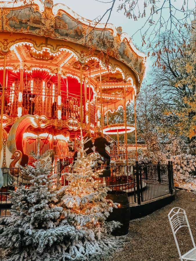 Merry Go Round Tivoli Gardens Christmas Market