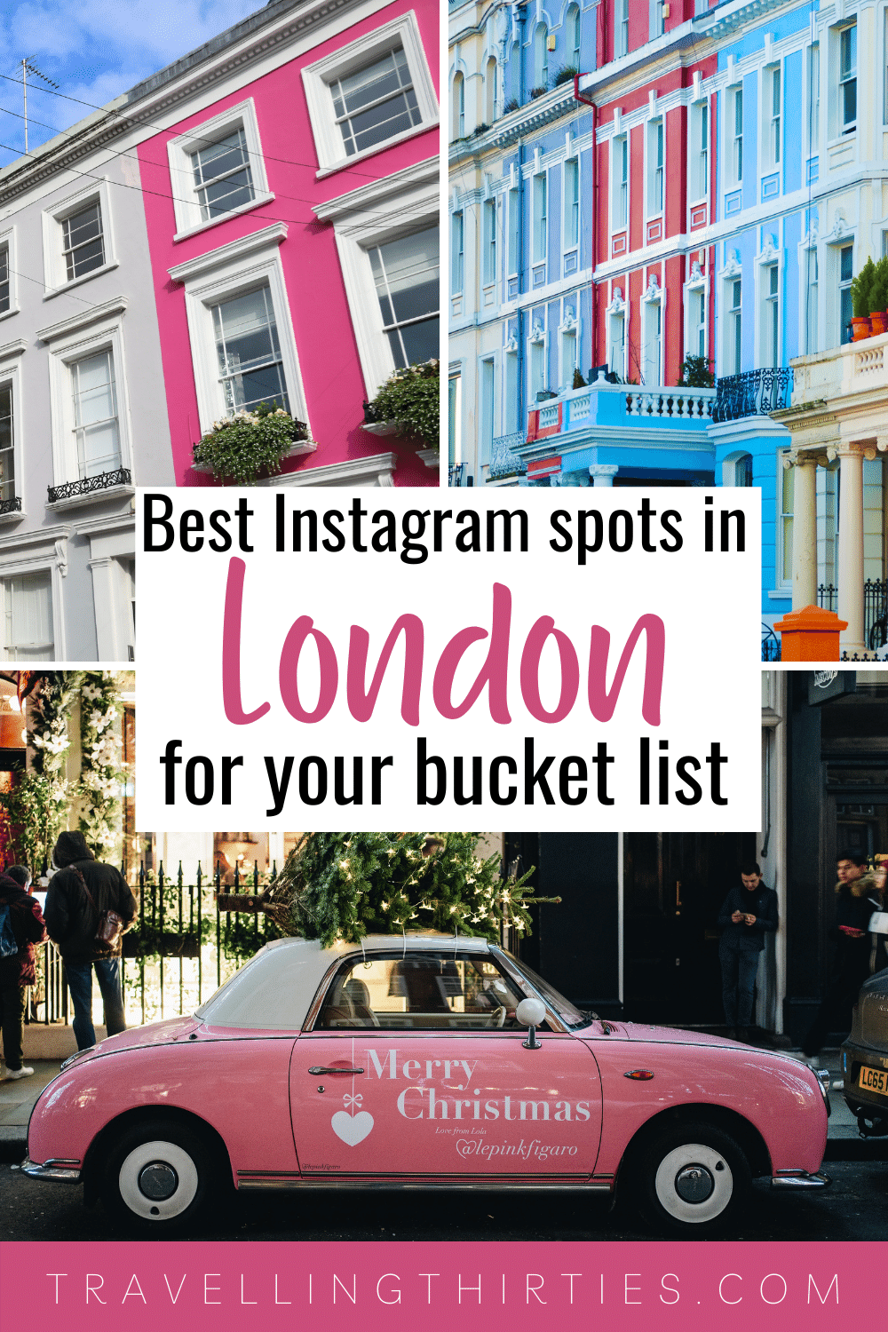 Pinterest Graphic for the most instagrammable places in London