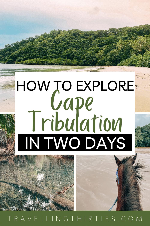 Pinterest Graphic for Cape Tribulation Queensland